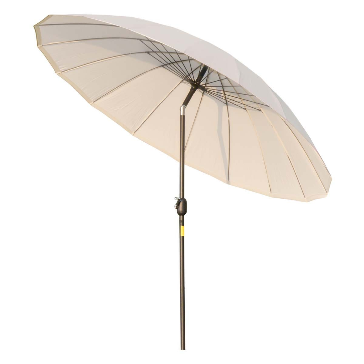 Outsunny 2.4m Round Parasol (base not included) - Cream