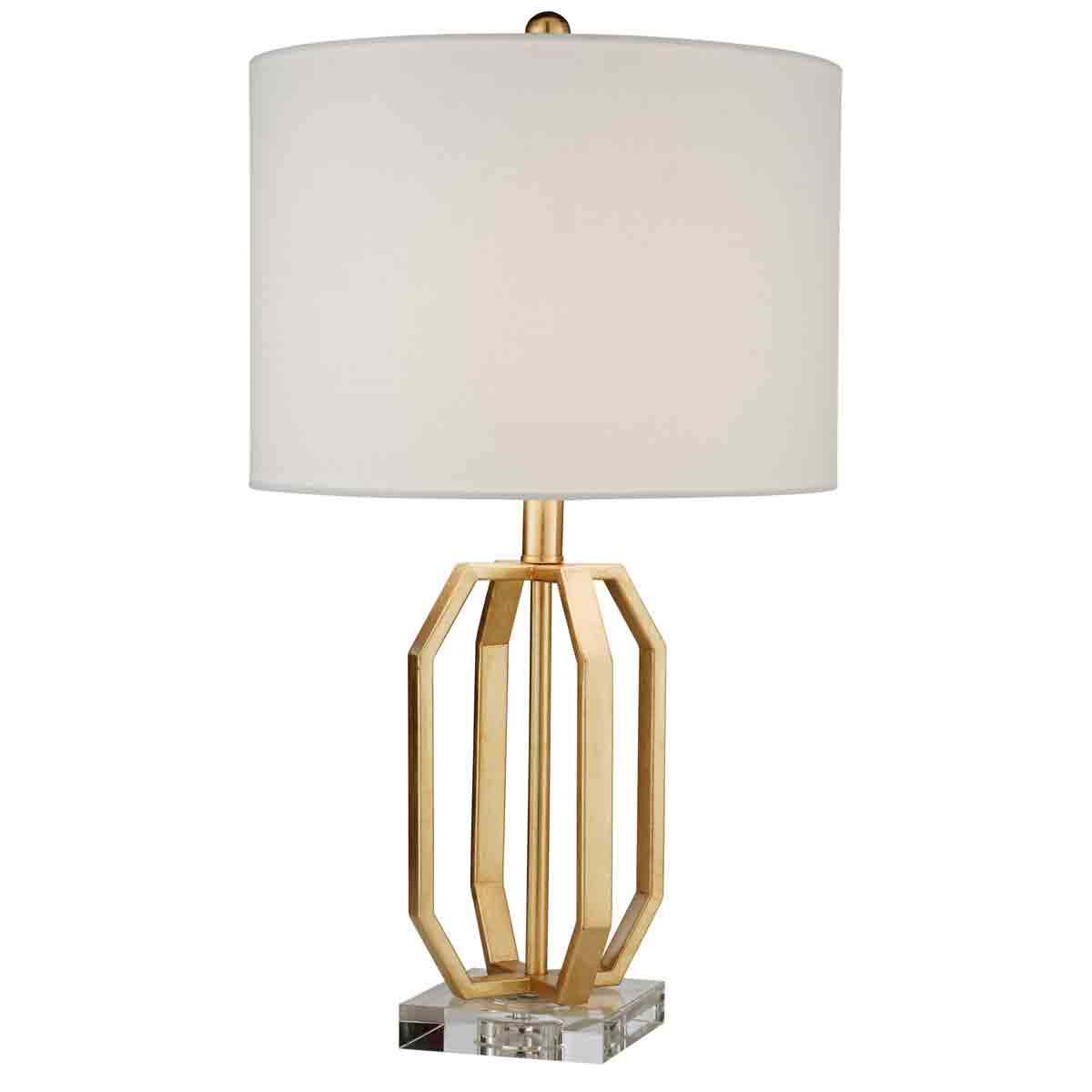 Village At Home Beatrice Table Lamp Gold