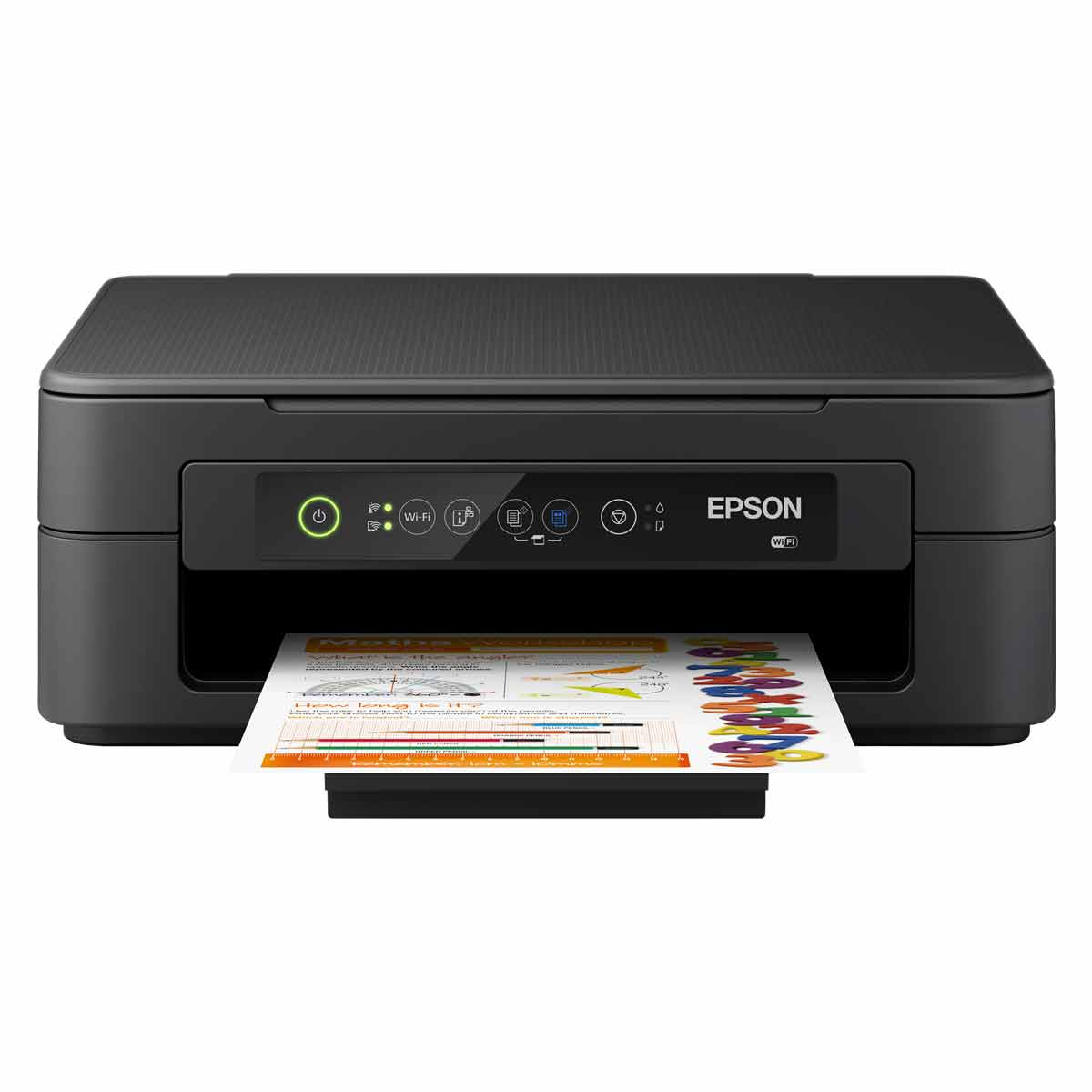 Epson Expression Home XP-2100 Printer & 12 Month Ready Print Subscription Bundle - Black