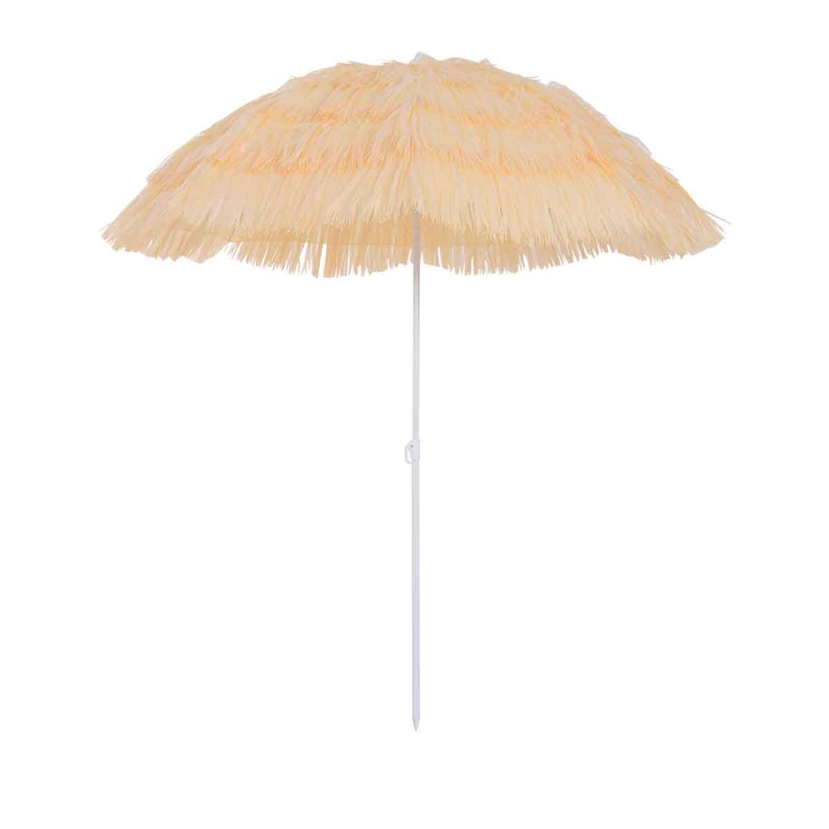 Outsunny Hawaii Garden Parasol (base not included) - Yellow