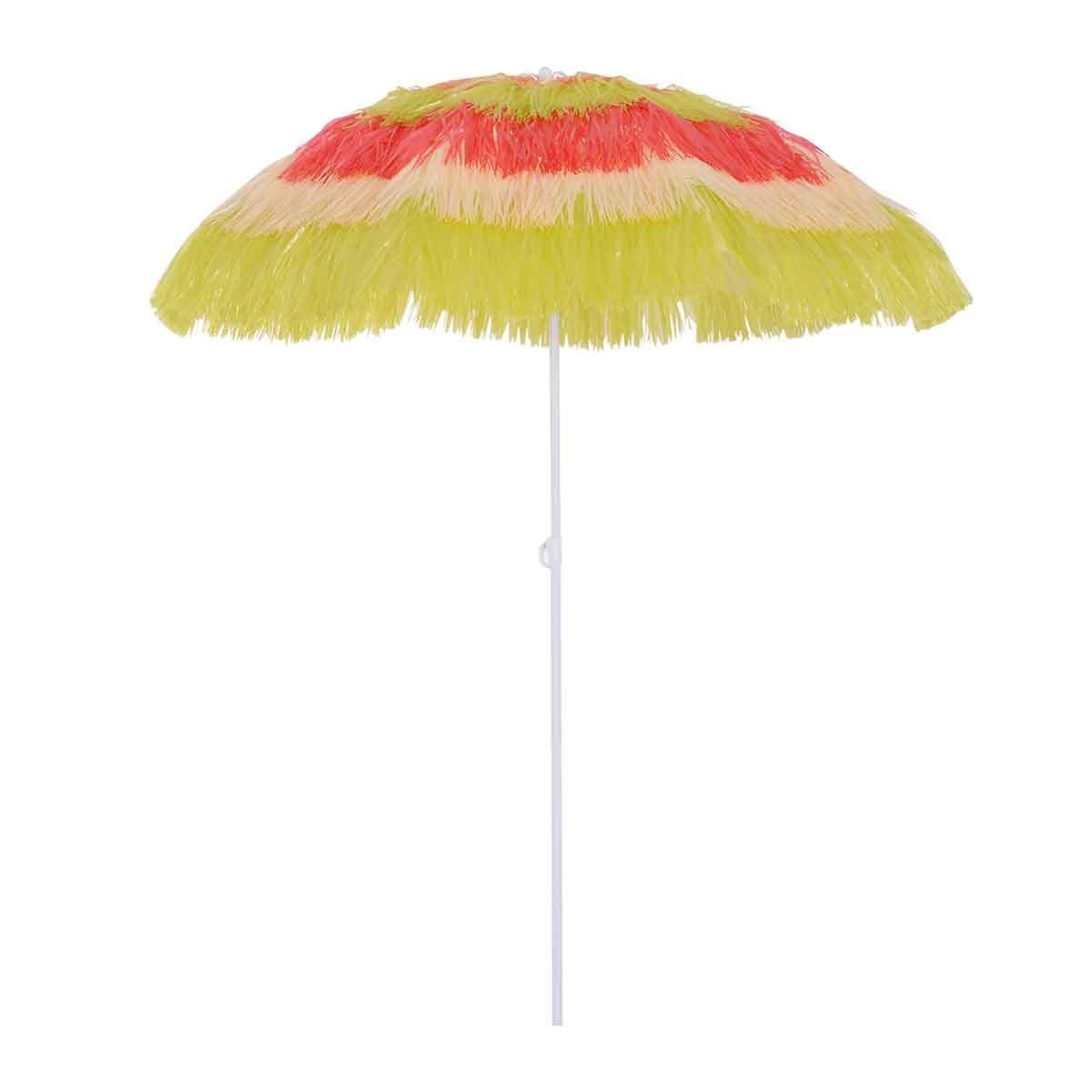 Outsunny Hawaii Garden Parasol (base not included) - Multicoloured