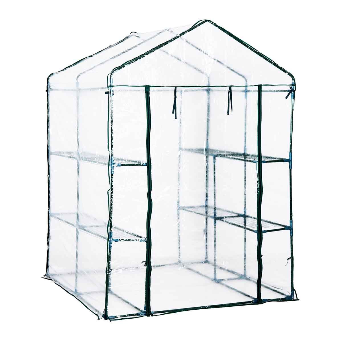 Outsunny Walk In Greenhouse with Steel Frame