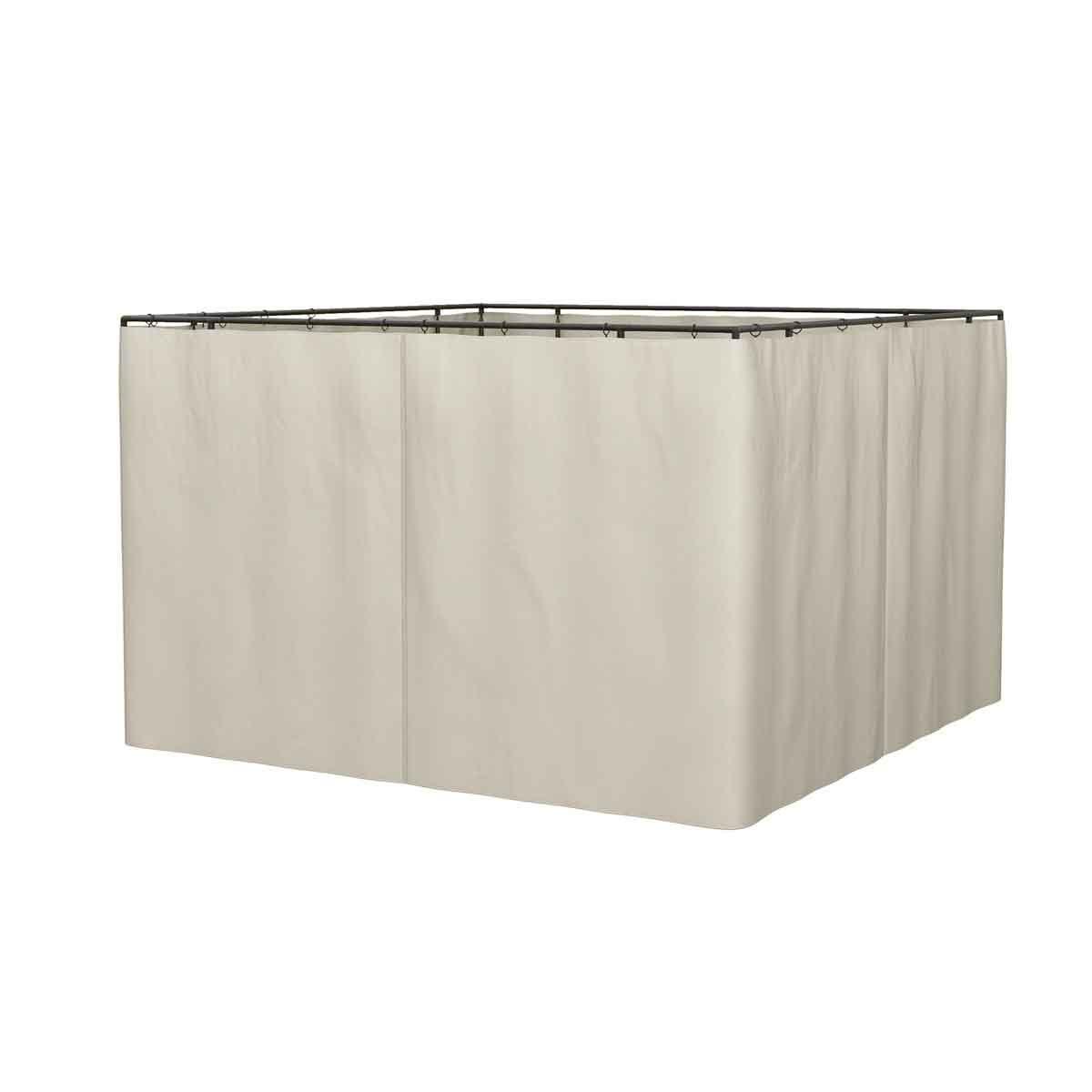Outsunny Gazebo 3x3m Replacement Sidewall Set - 4 Pcs