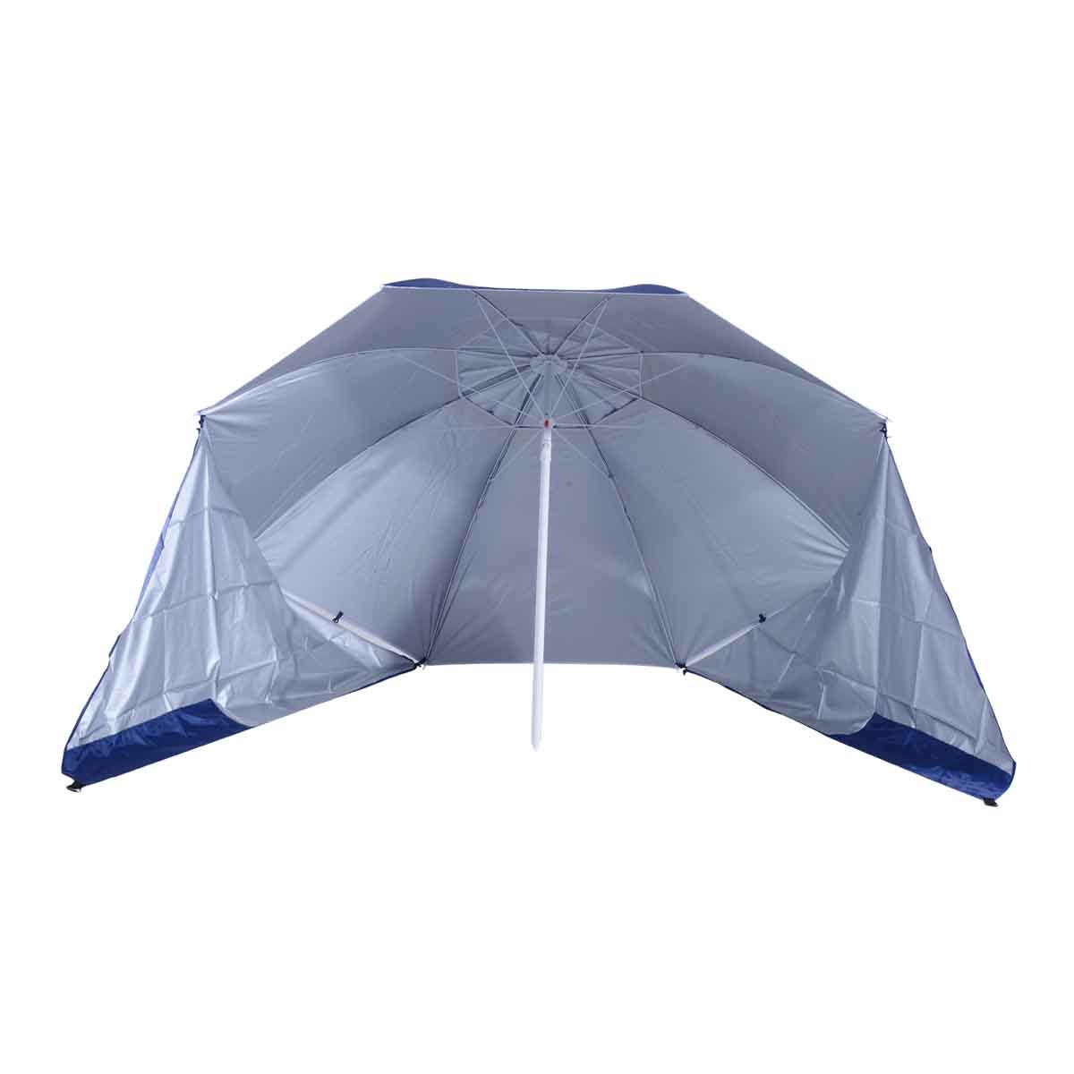 Outsunny 2 in 1 Beach Parasol Canopy (base not included) - Blue