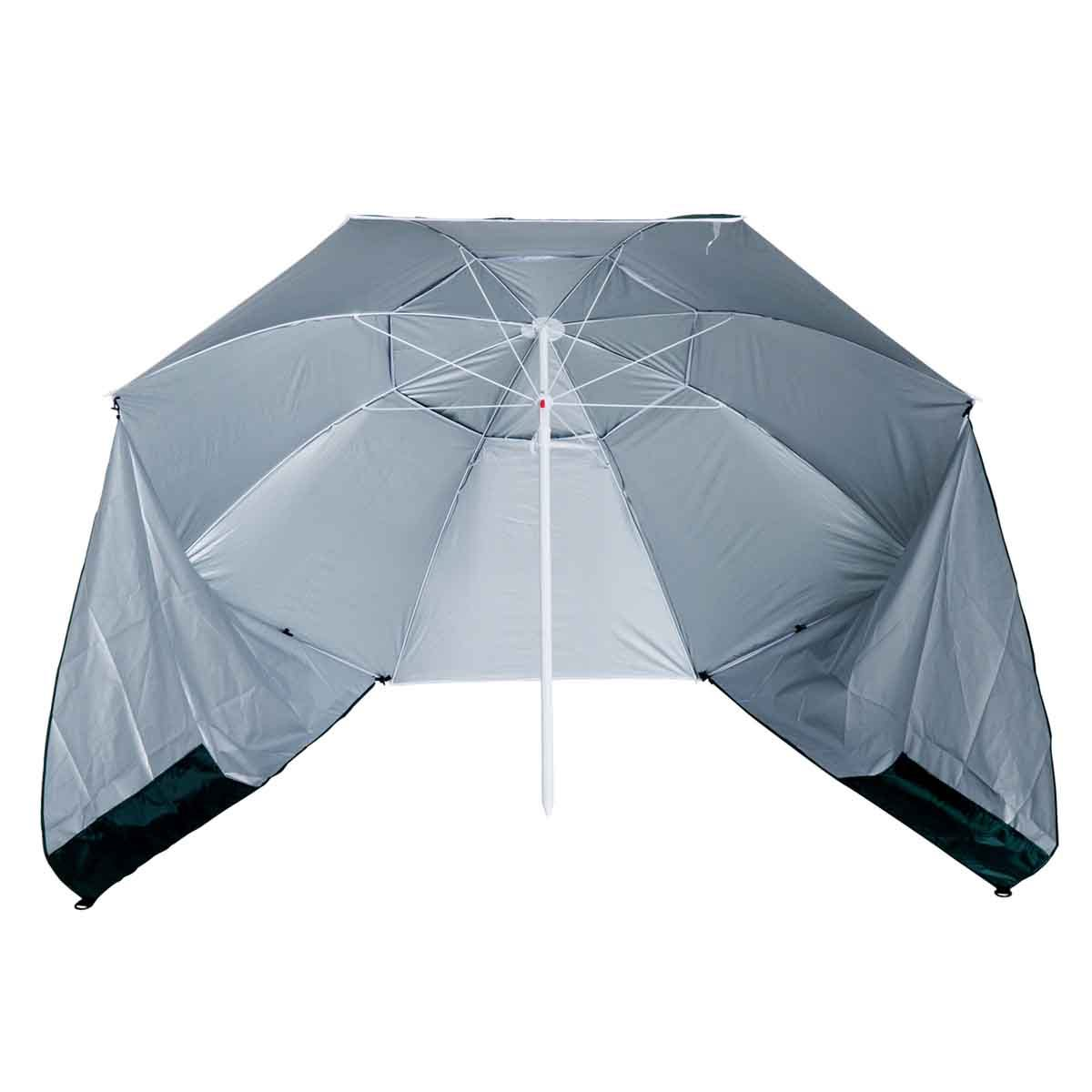 Outsunny 2 in 1 Beach Parasol Canopy (base not included) - Green