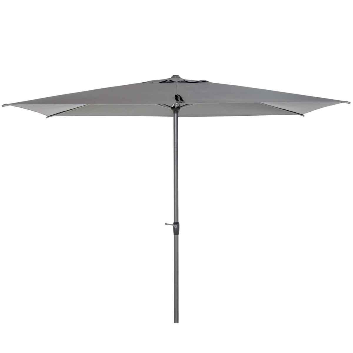 Outsunny 3 x 2m Rectangular Parasol (base not included) - Grey