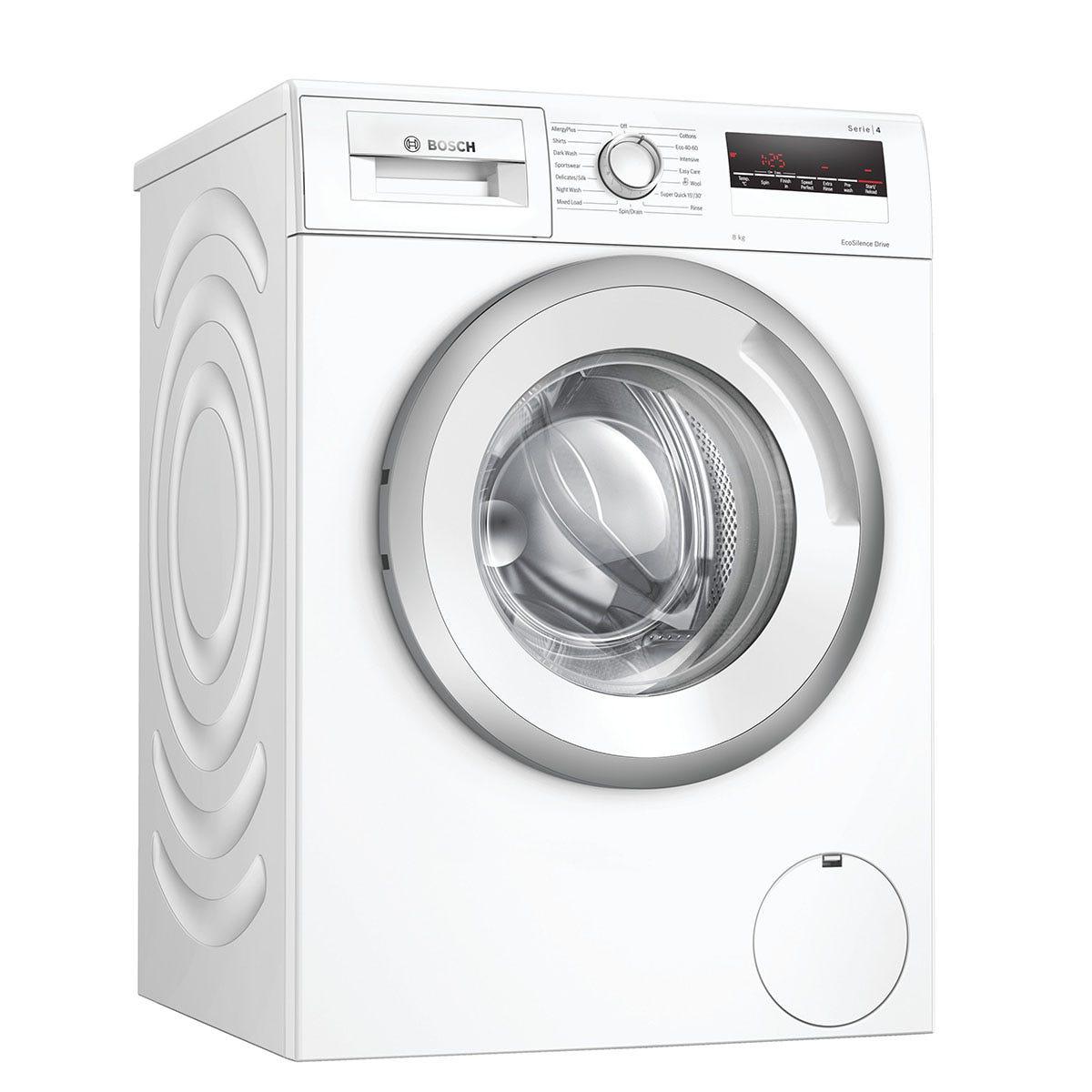 Bosch Serie 4 WAN28281GB 8kg Washing Machine with 1400rpm - White