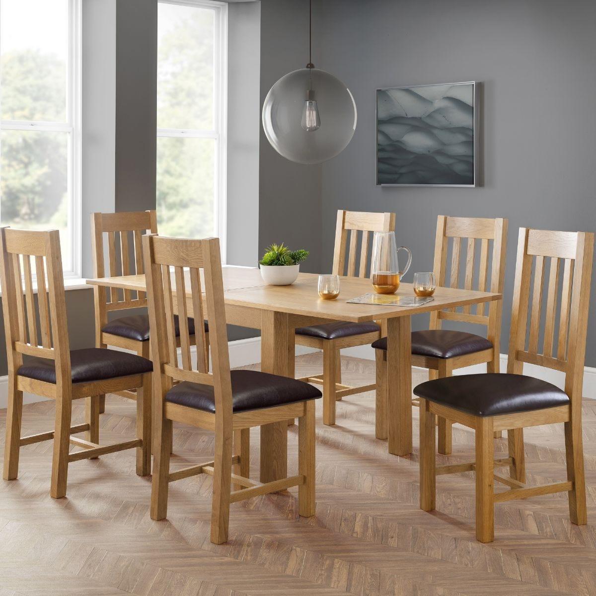 Julian Bowen Astoria Flip Top Dining Table