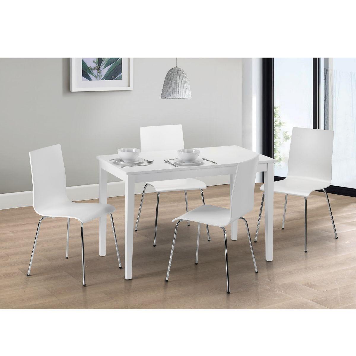 Julian Bowen Taku Dining Table Grey