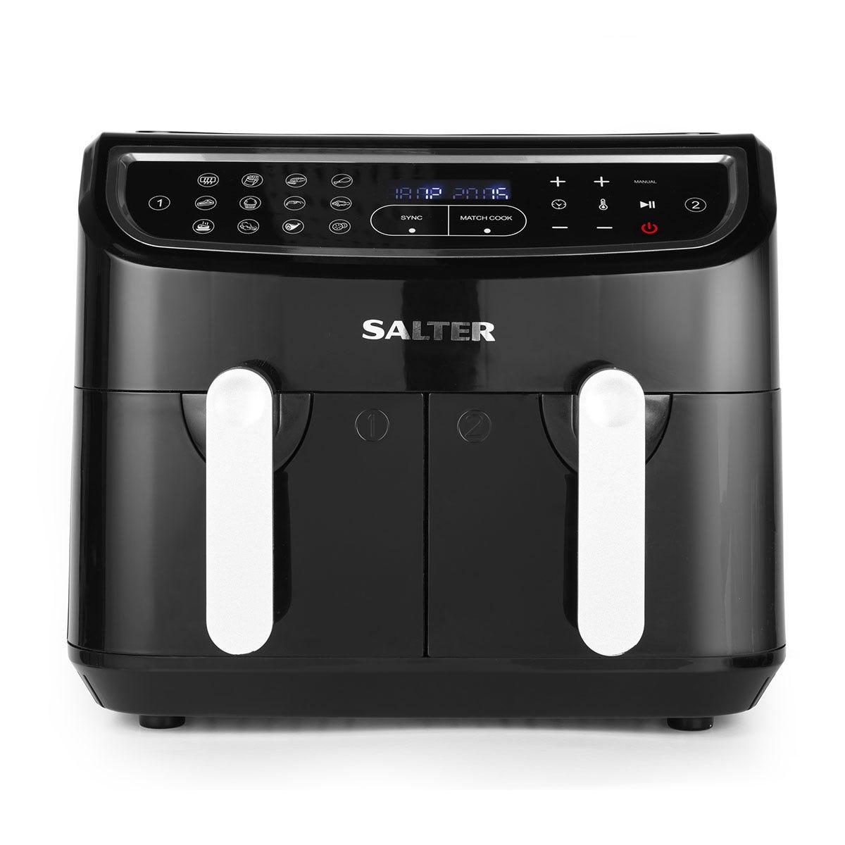 Salter EK4548 Dual Pro Air Fryer - Black