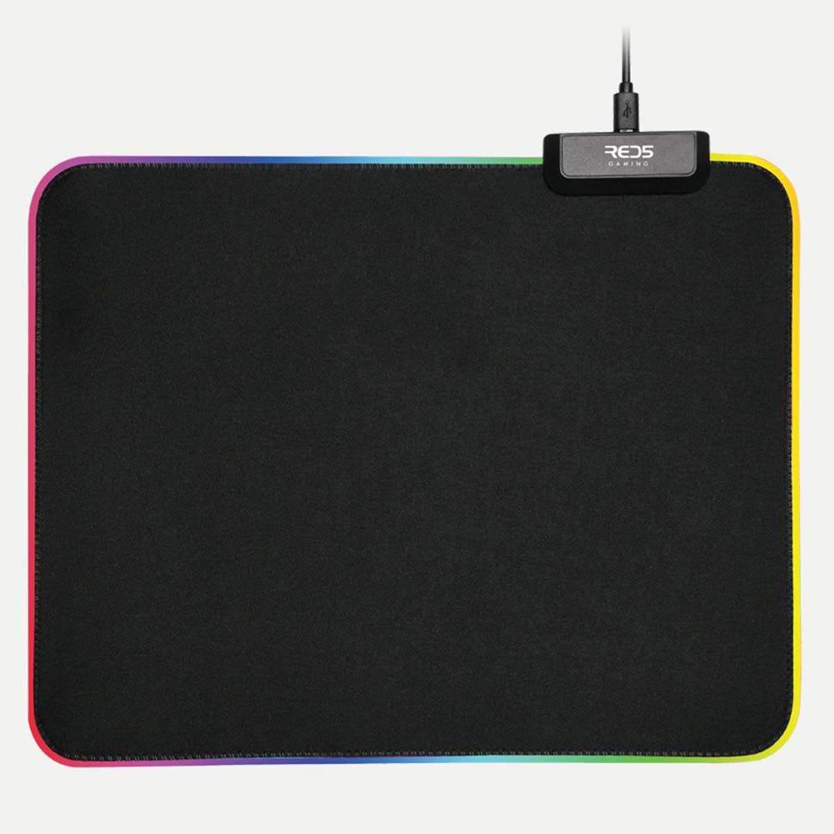 RED5 Light-Up Gaming Mouse Mat - Medium