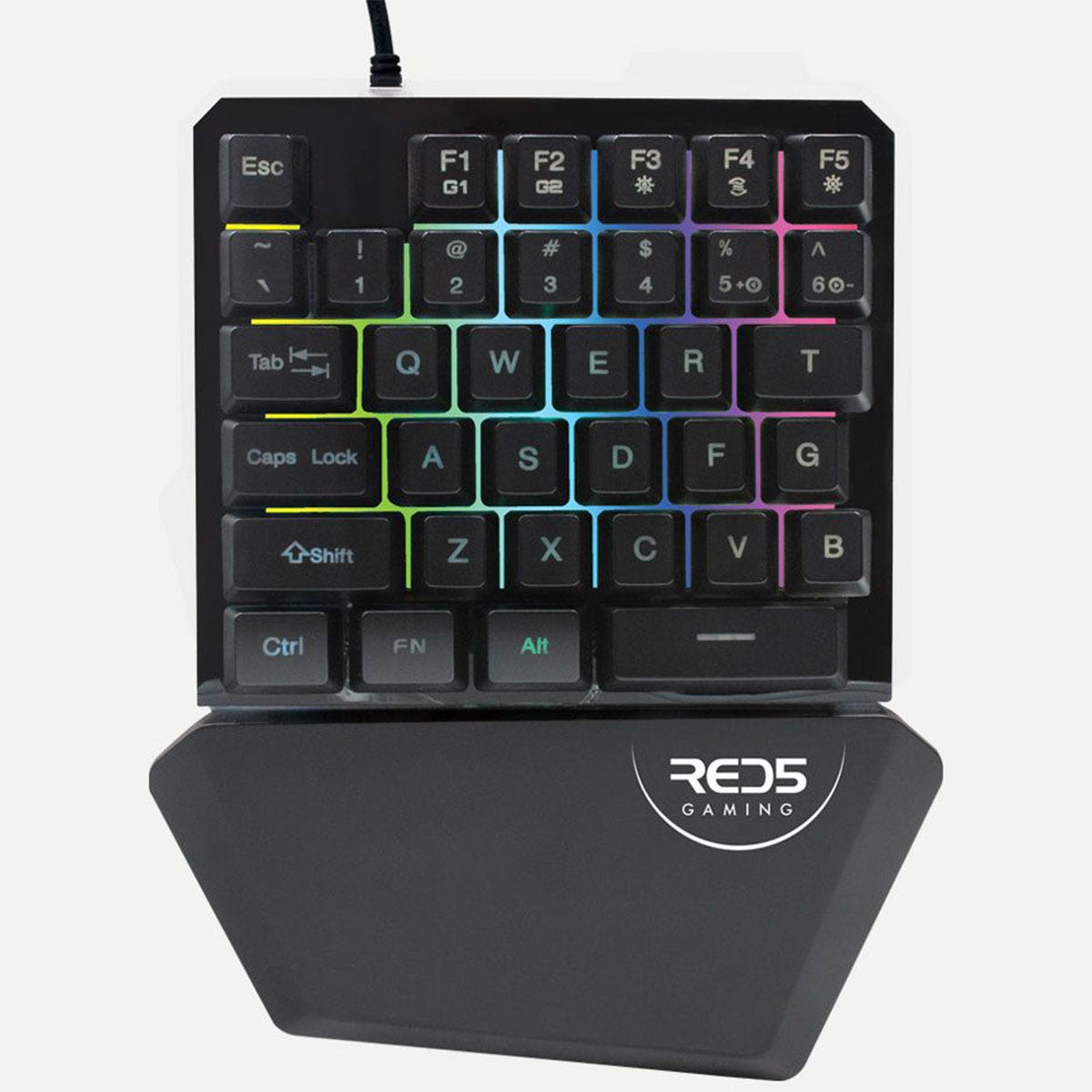 RED5 Nova One Hand Gaming Keyboard with Lights
