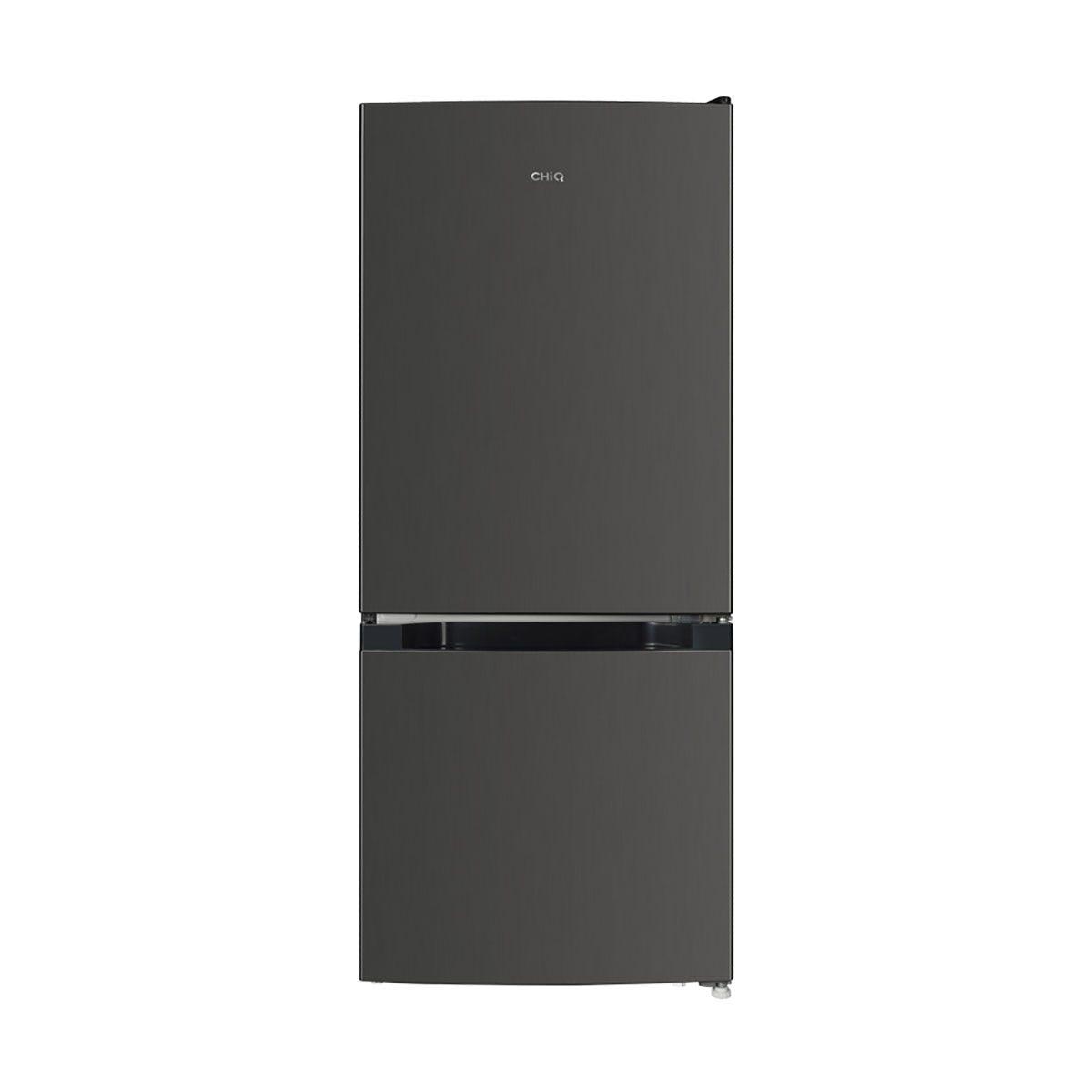 CHiQ CBM120L42 117L Freestanding Fridge Freezer - Dark Inox