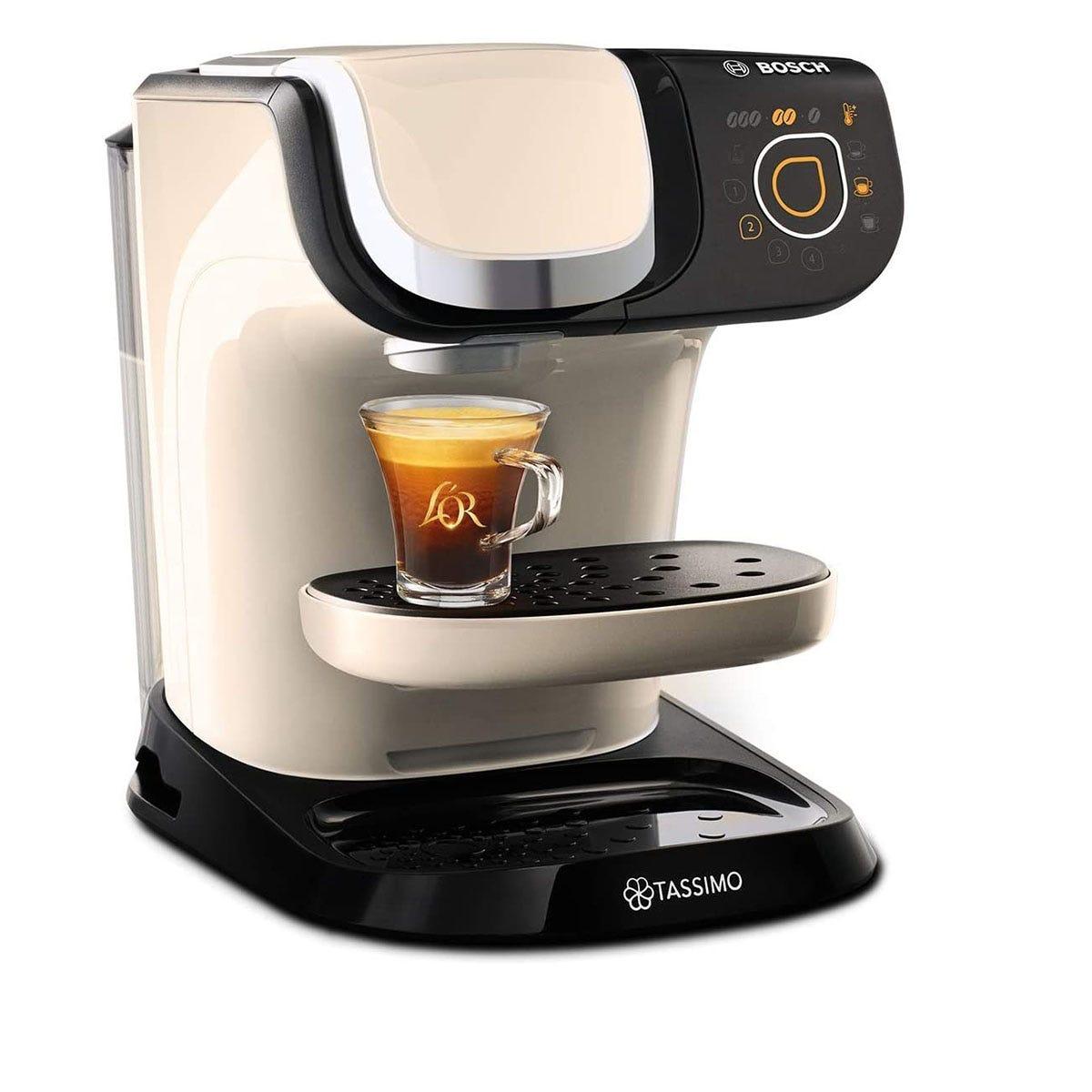 Tassimo by Bosch TAS6507GB My Way 2 Pod Coffee Machine - Cream