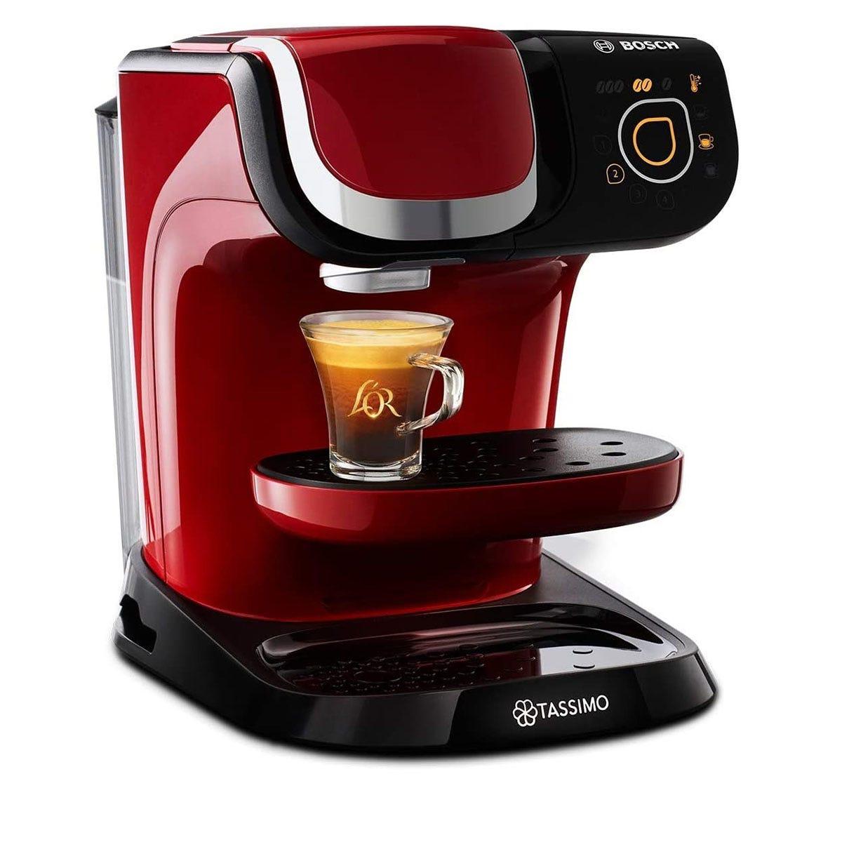 Tassimo by Bosch TAS6503GB My Way 2 Pod Coffee Machine - Red
