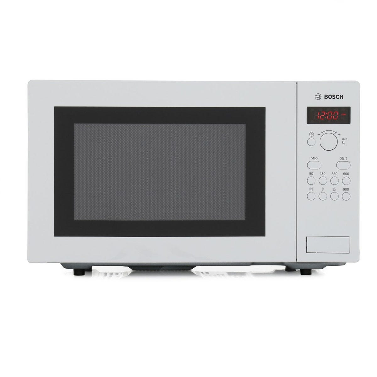 Bosch HMT84M421B Family Size Touch Control Microwave - White