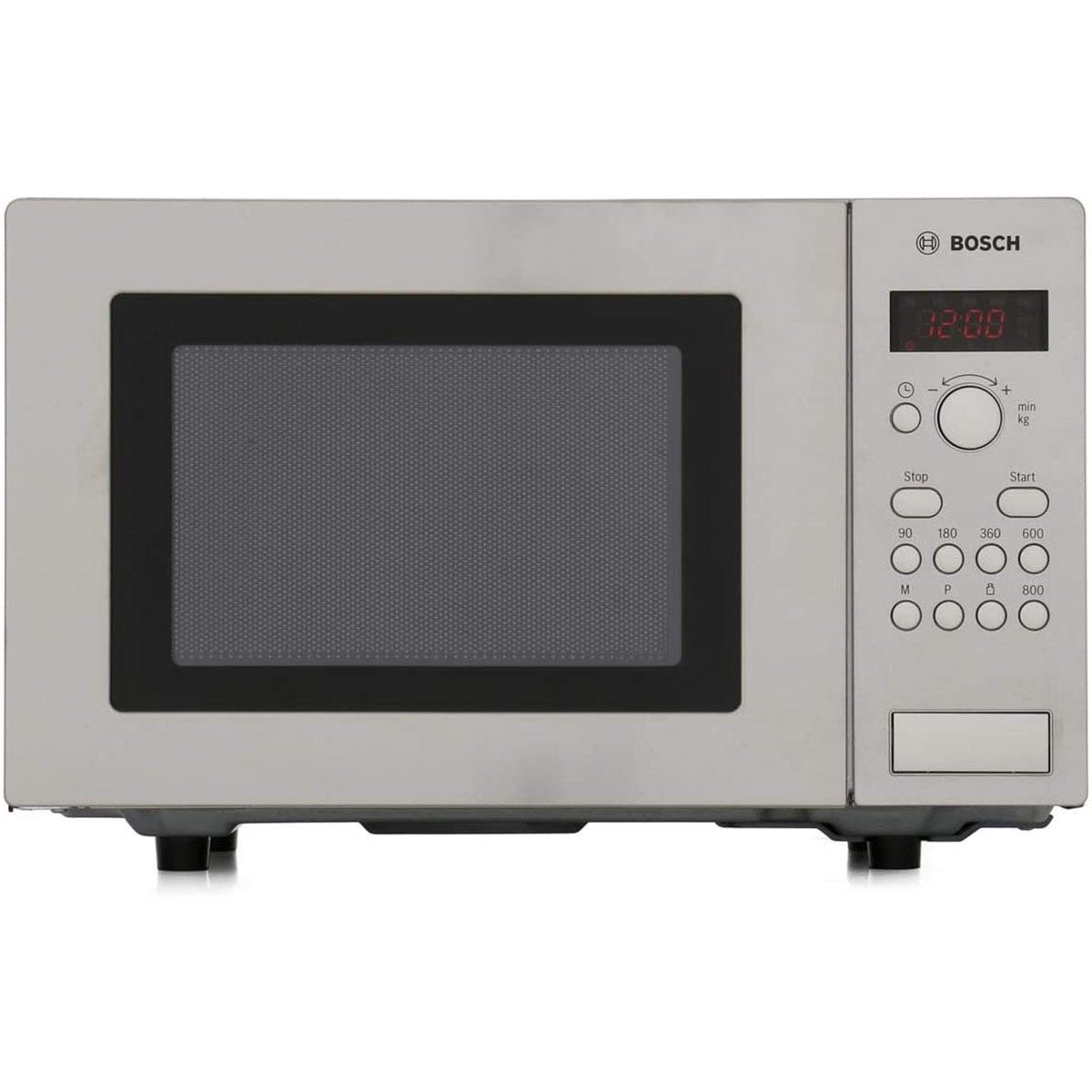 Bosch HMT75M451B Compact Touch Control Microwave Oven - Brushed Steel