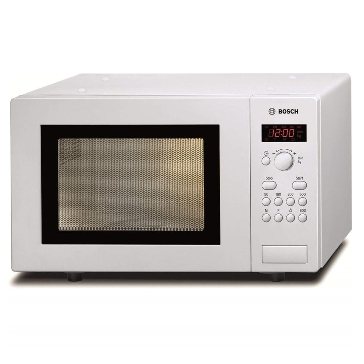 Bosch HMT75M421B Compact Touch Control Microwave Oven - White