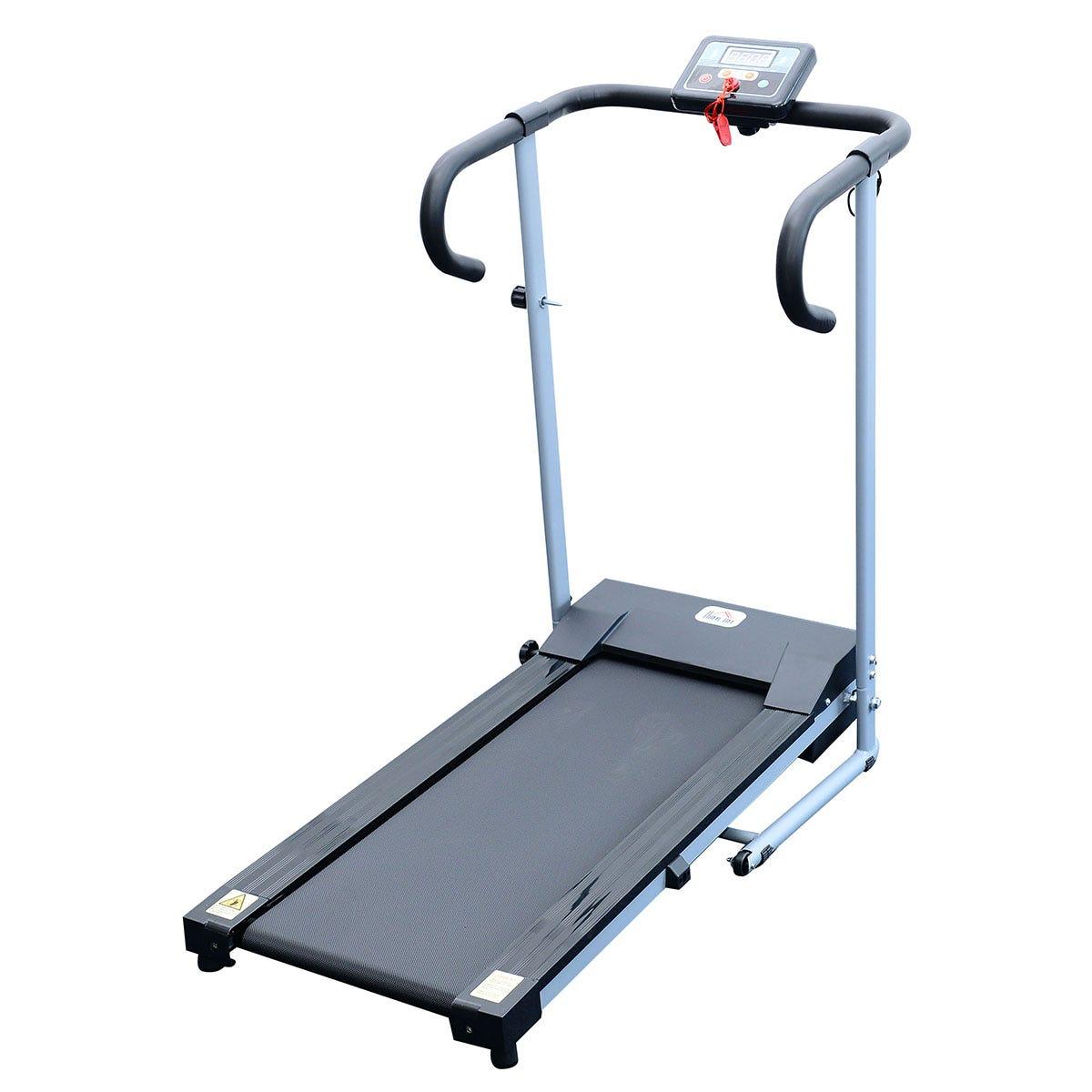 HOMCOM New Motorised Electric Treadmill Running Machine Fitness Folding Power Exercise