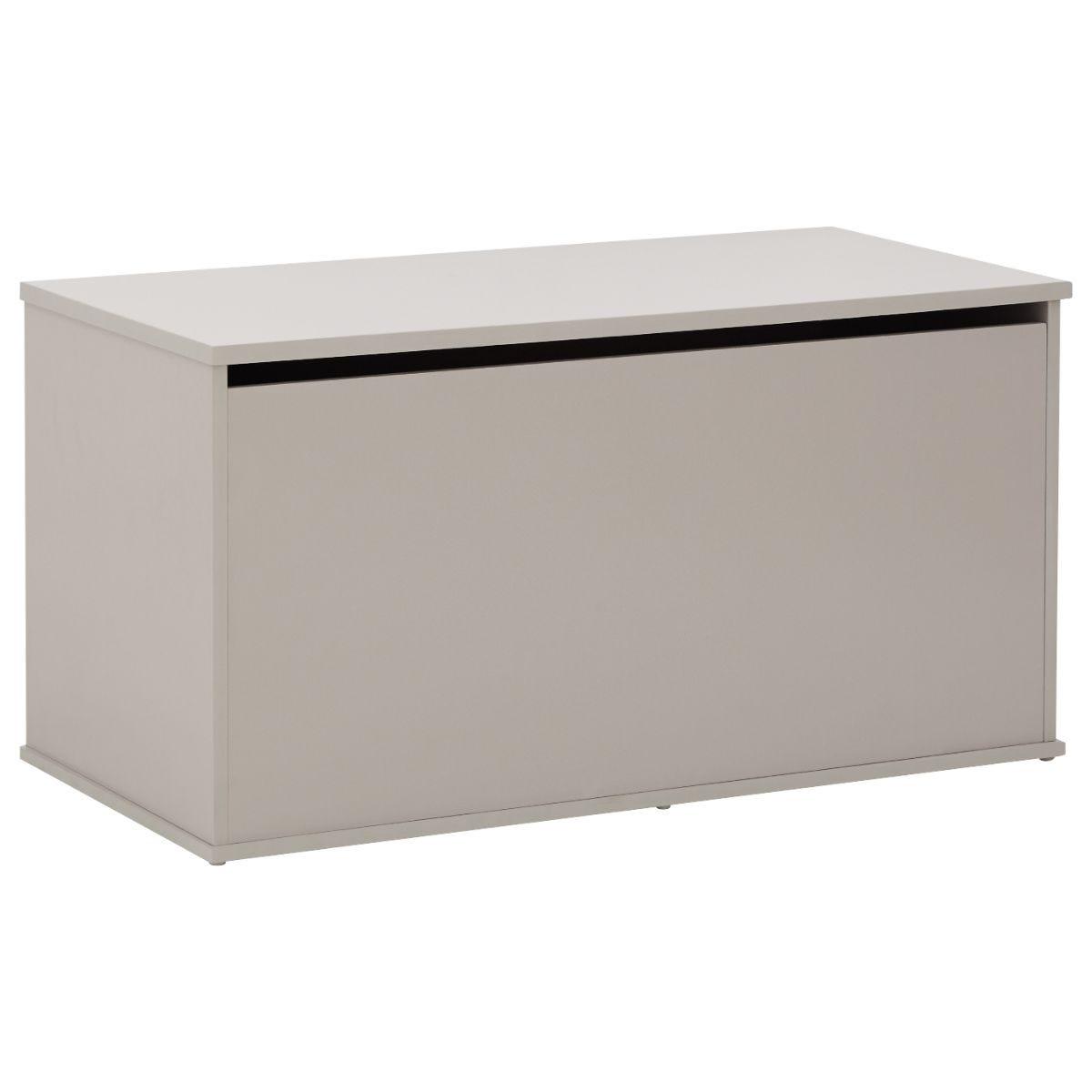 Panama Ottoman Storage Box Grey