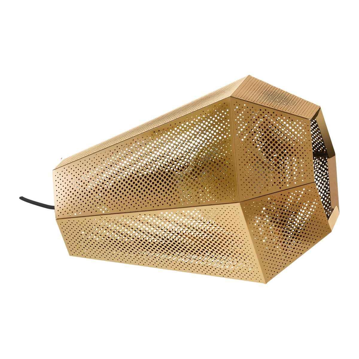Eglo Angular Brass Mesh Table Lamp