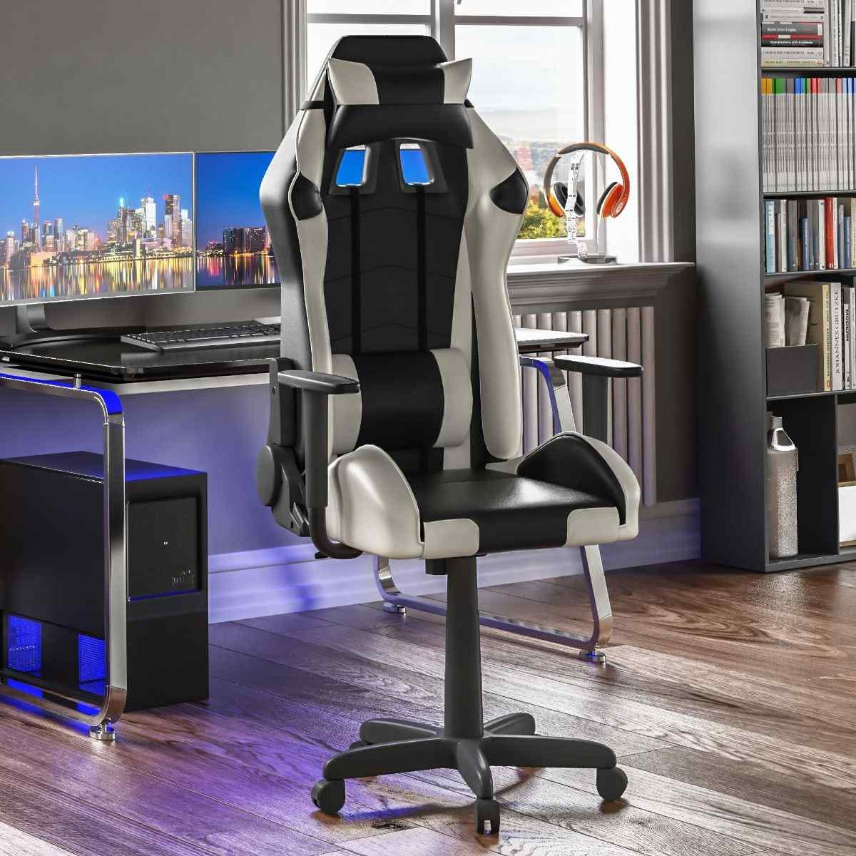 Nitro Racing Gaming Chair White And Black
