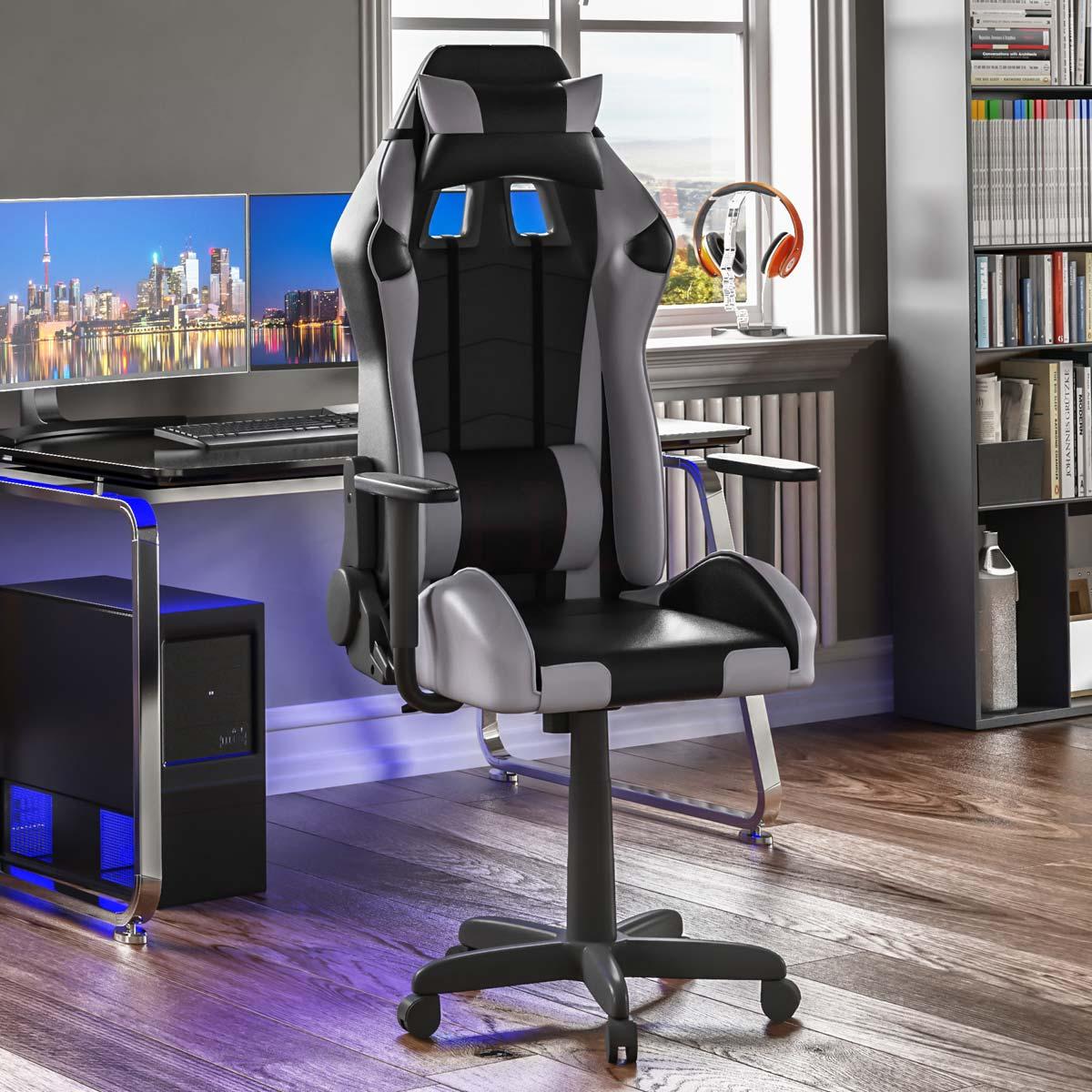 Nitro Racing Gaming Chair Grey And Black
