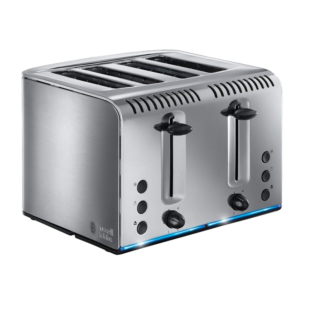 Russell Hobbs 20750 Buckingham 4-Slice Toaster - Stainless Steel