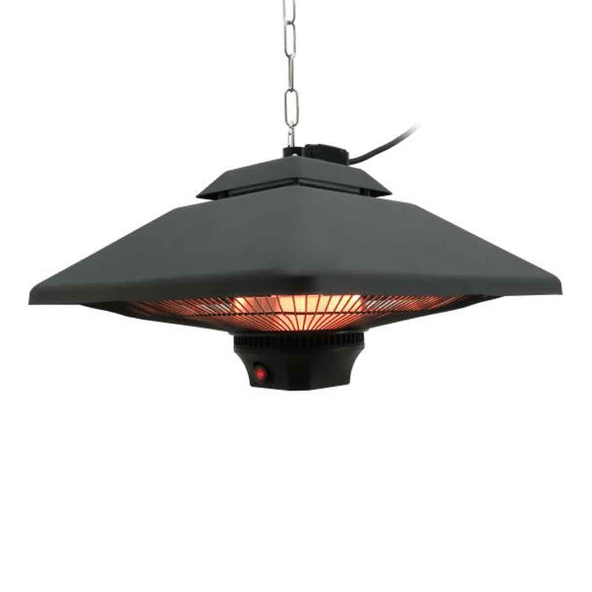 Outsunny 2kw Hanging Halogen Electric LED Patio Heater