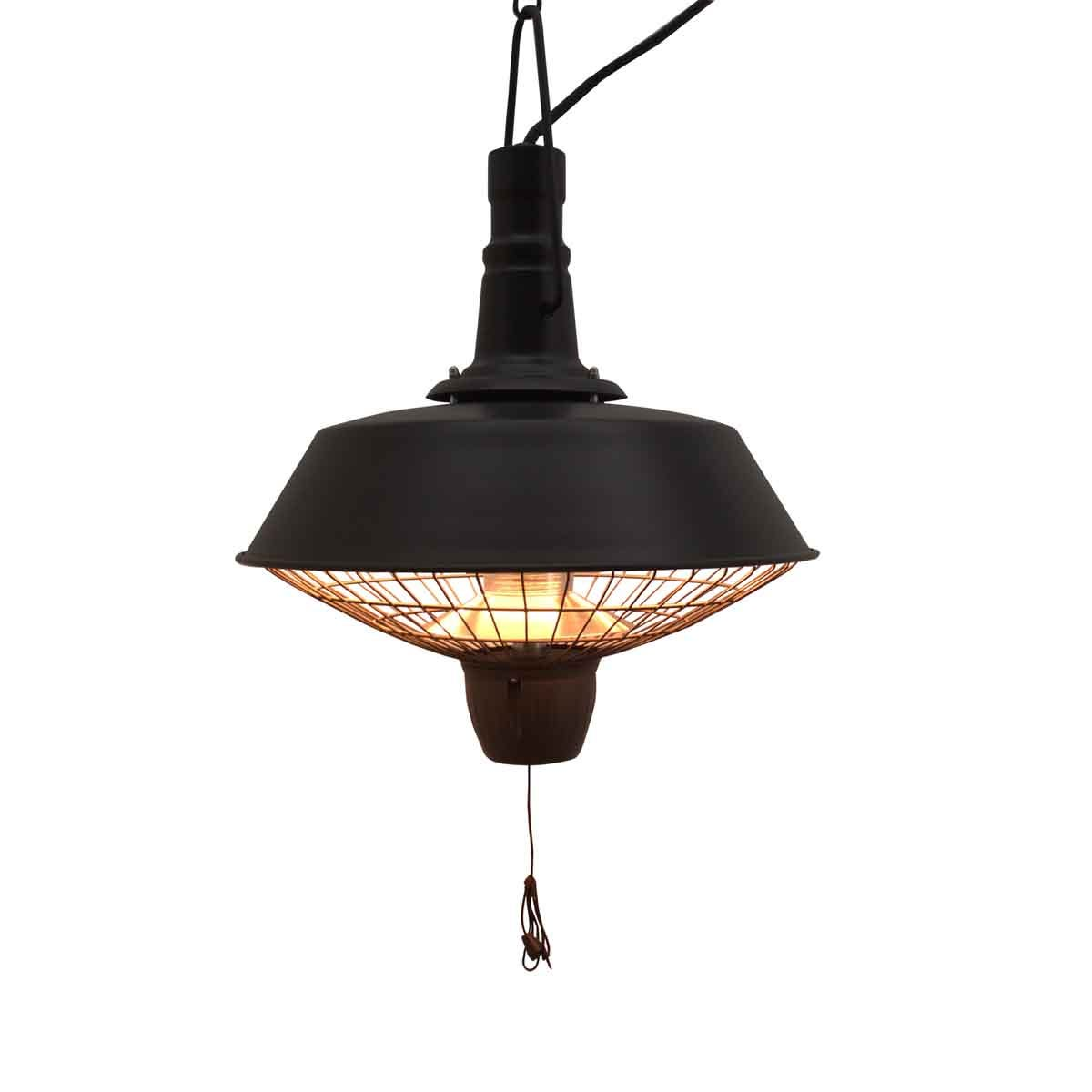 Outsunny 2100W Electric Patio Heater w/ Ceiling Hanging - Black