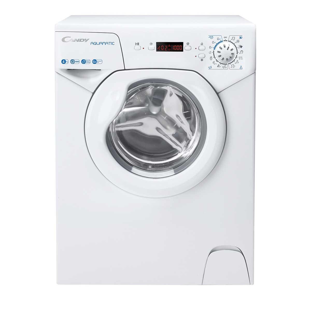 Candy AQUA1042DE 4Kg 1000rpm Slimline Washing Machine - White