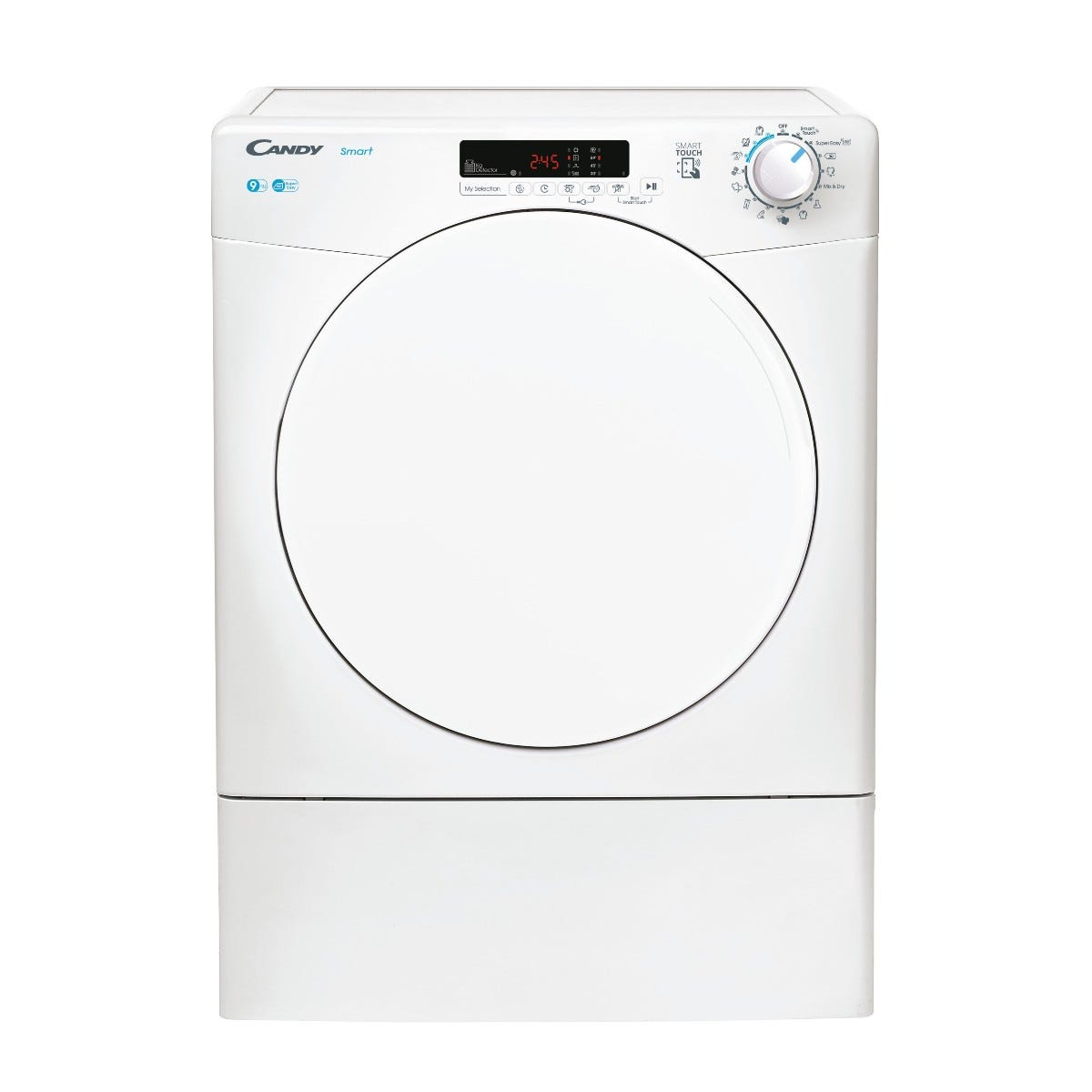 Candy CSE V9DF-80 Smart 9kg Vented Tumble Dryer - White