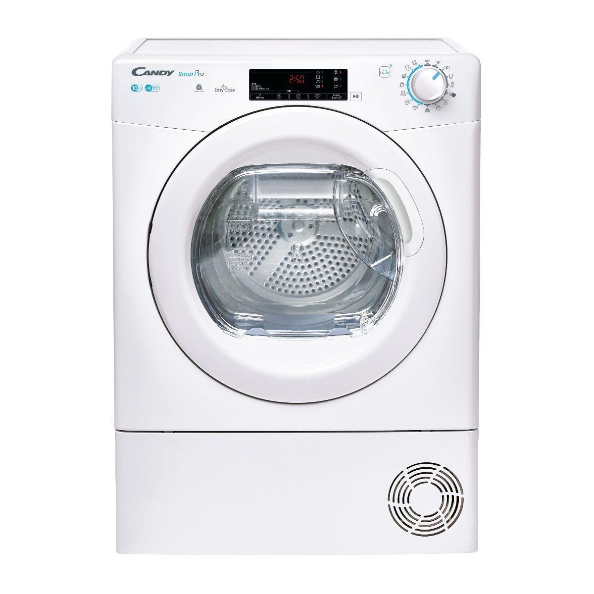 Candy CSOEC10TE-80 Smart 10kg Condenser Tumble Dryer with Aquavision - White