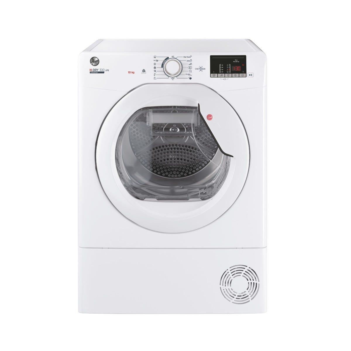 Hoover HLE C10DE-80 10kg Condenser Tumble Dryer - White