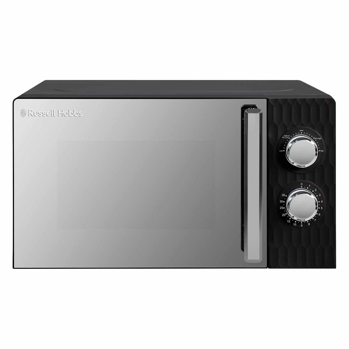 Russell Hobbs RHMMM715B Honeycomb 17L 700W Manual Microwave - Black