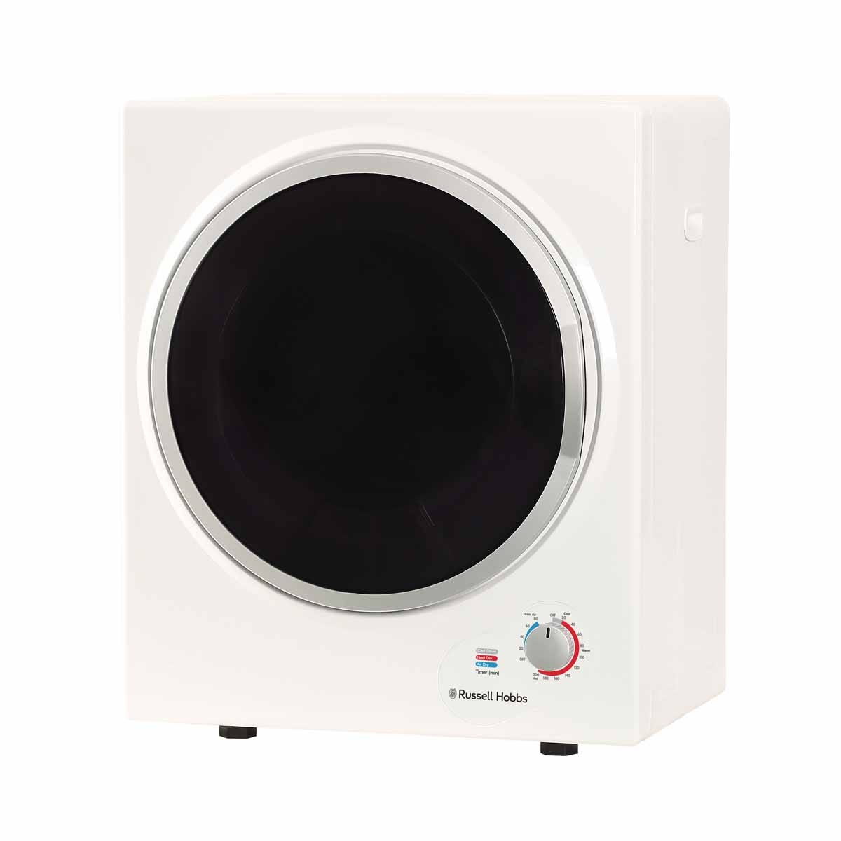 Russell Hobbs RH3VTD800 2.5kg Compact Vented Tumble Dryer - White