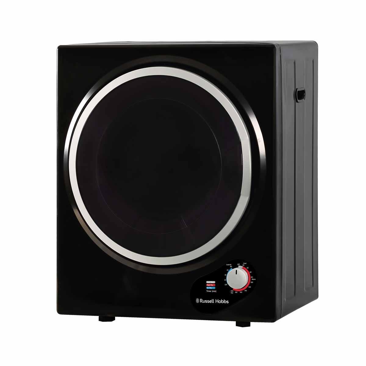 Russell Hobbs RH3VTD800B 2.5kg Compact Vented Tumble Dryer - Black