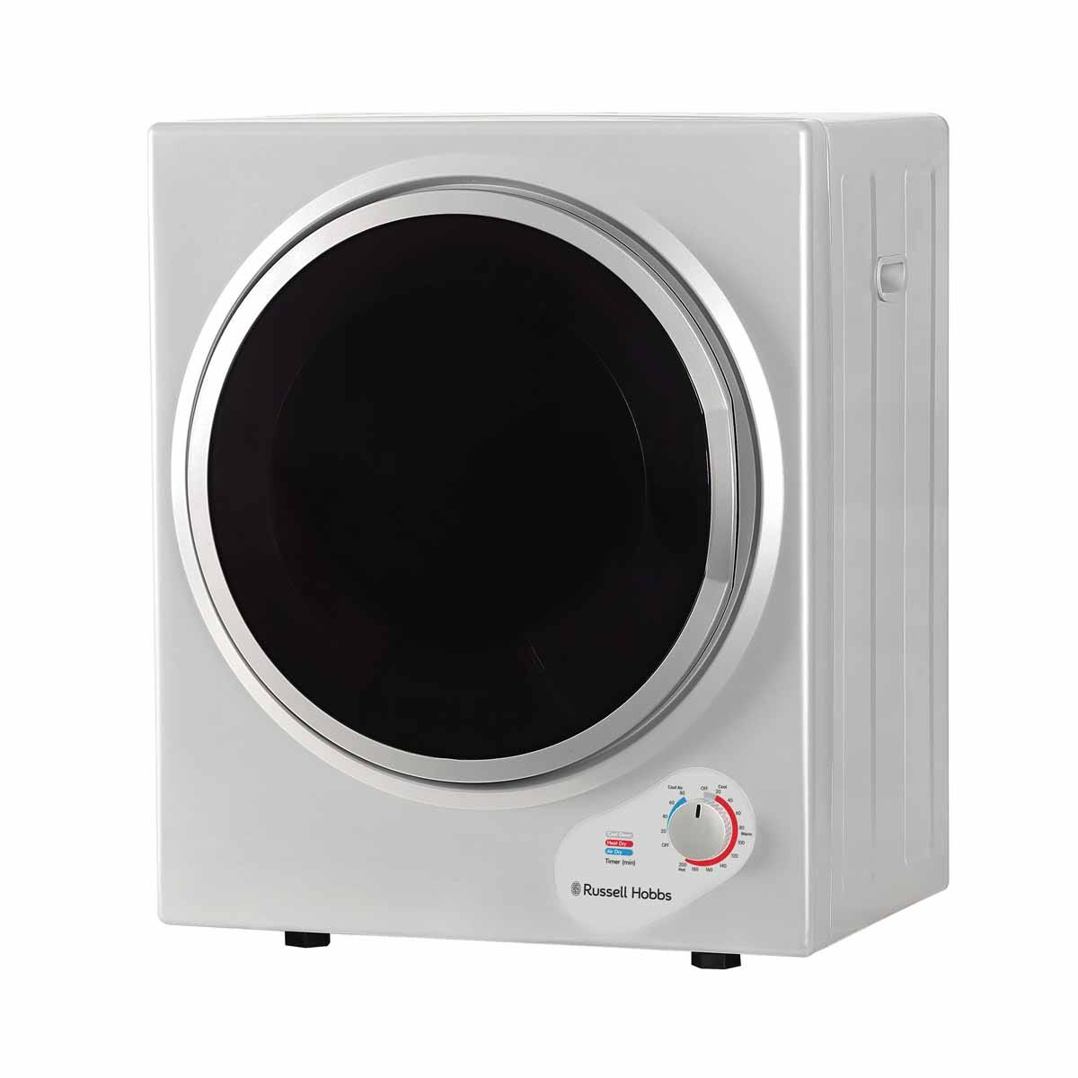 Russell Hobbs RH3VTD800S 2.5kg Compact Vented Tumble Dryer - Silver