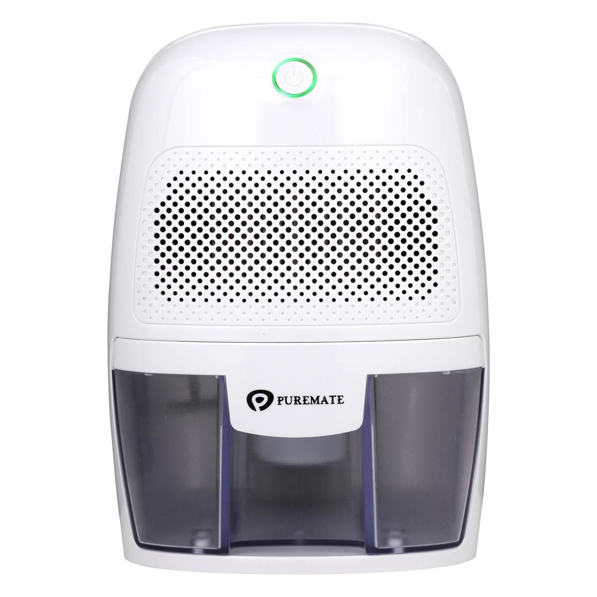 PureMate 600ml Air Dehumidifier for Damp, Mould, Condensation & Moisture - White