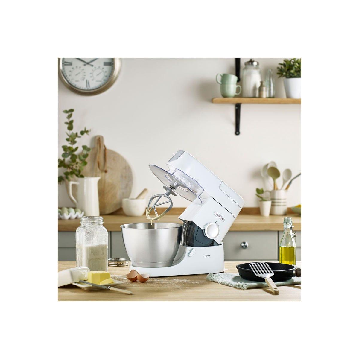 Kenwood KVC31000W 1000W 4.6L Chef Stand Mixer - White