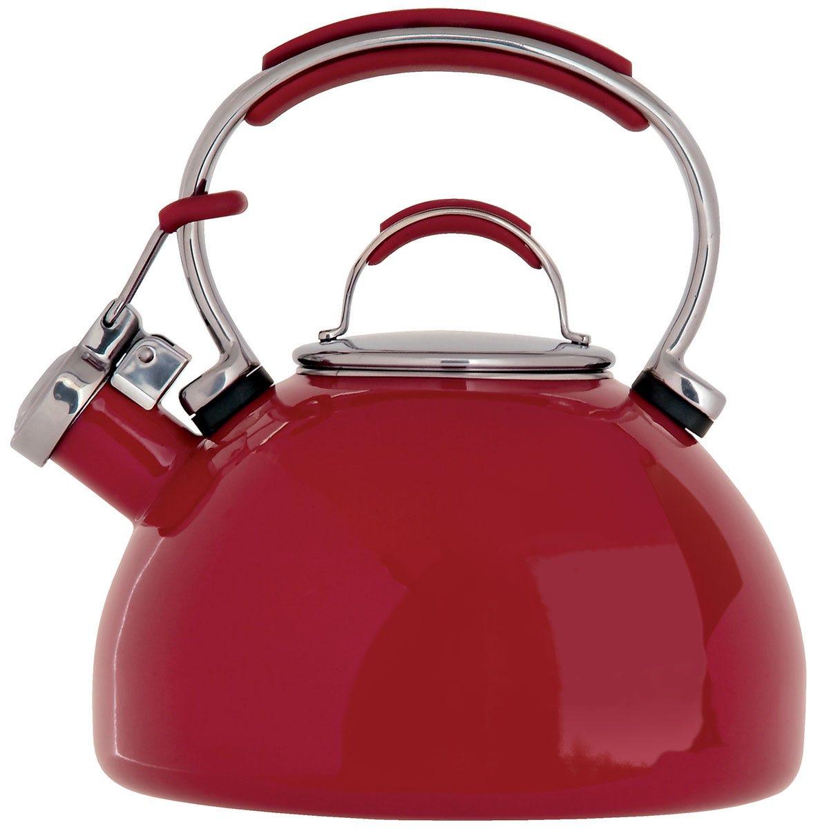 Prestige Red Stove Top Kettle - 2L