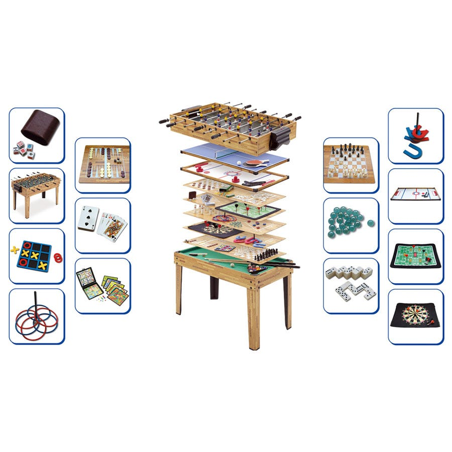 Compare prices for Mightymast 34-In-1 Multi-Games Table