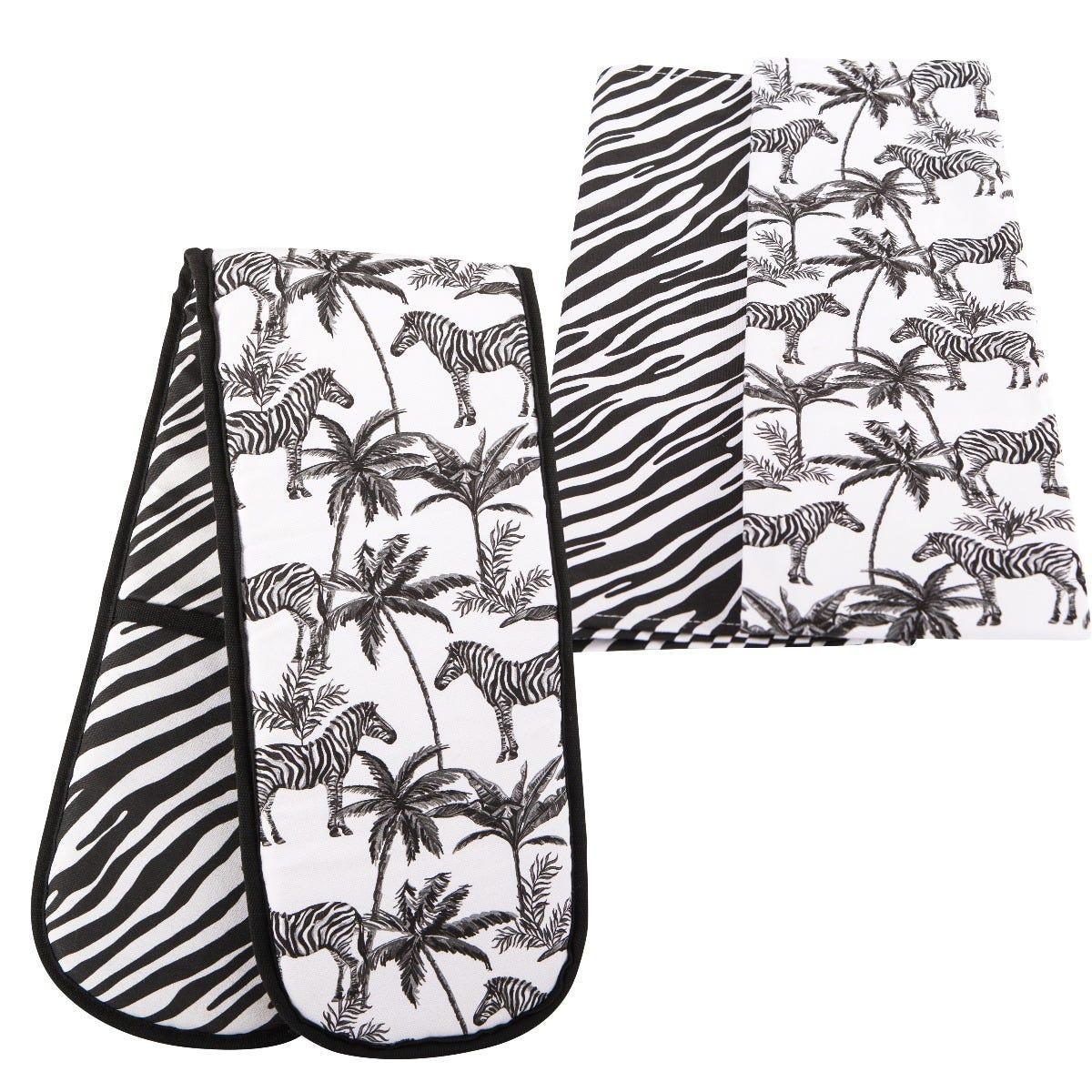 Beau & Elliot Madagascar Tea Towel & Double Oven Glove Set
