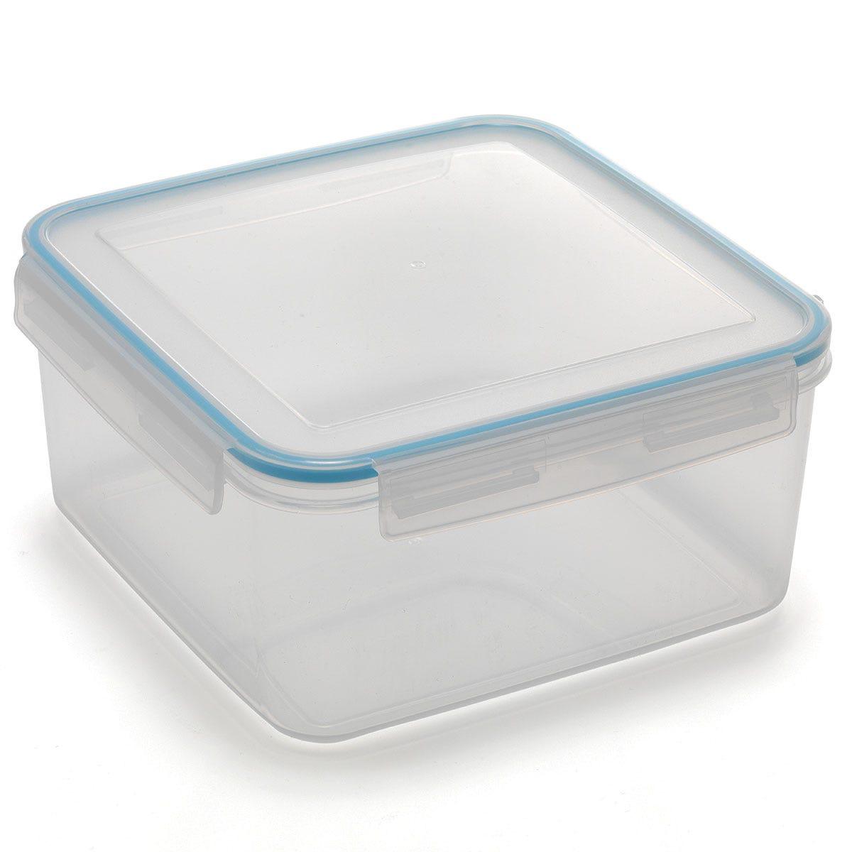 Image of Addis Clip & Close Square Cake Container - 5L