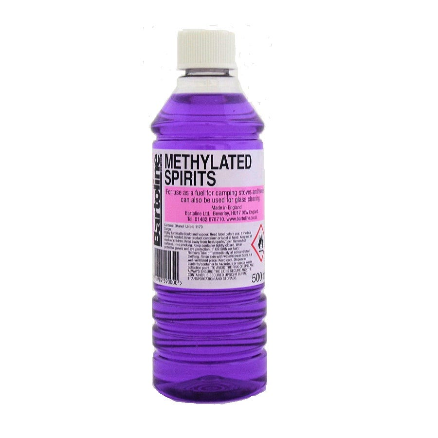 Compare prices for Bartoline Methylated Spirit - 500ml
