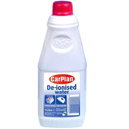 Compare prices for CarPlan De-Ionised Water - 1L