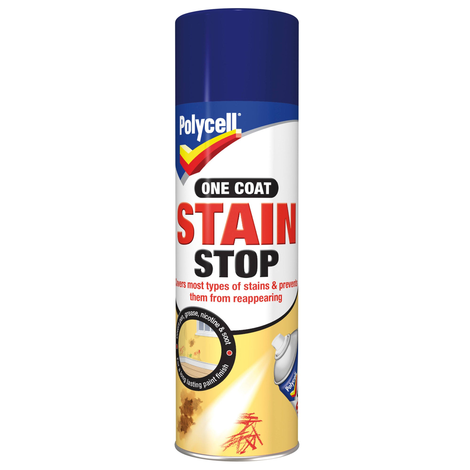 Image of Polycell Stain Stop White 0.25Litre