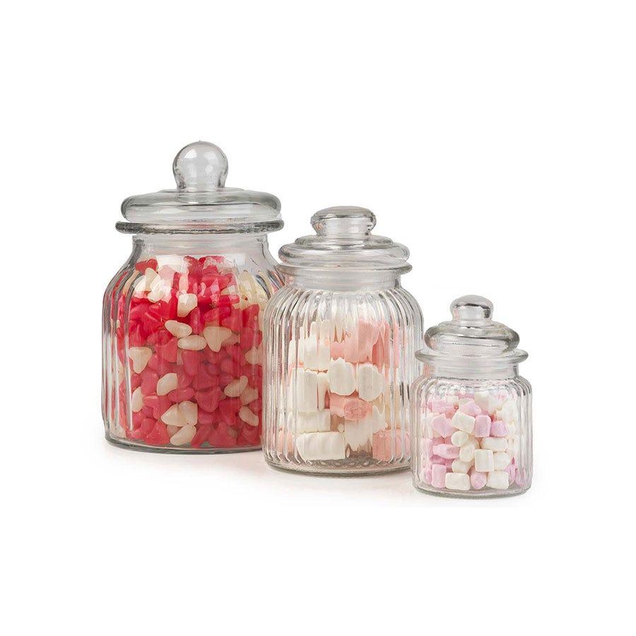 Vintage Japan Musical Glass Candy Jar
