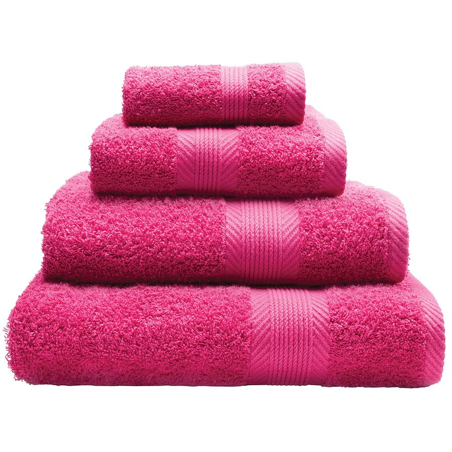 Compare cheap offers & prices of Catherine Lansfield Essentials Cotton Hand Towel - Pink manufactured by Catherine Lansfield