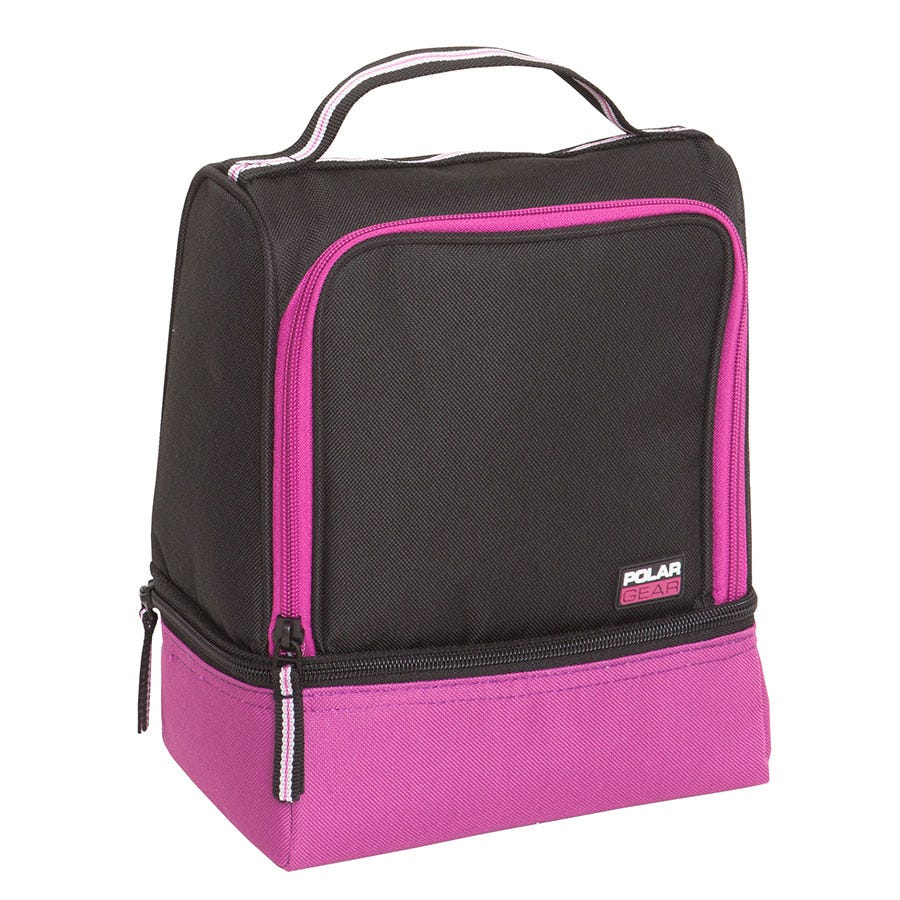 Compare prices for Polar Gear 2-Compartment 5L Cool Bag - Berry